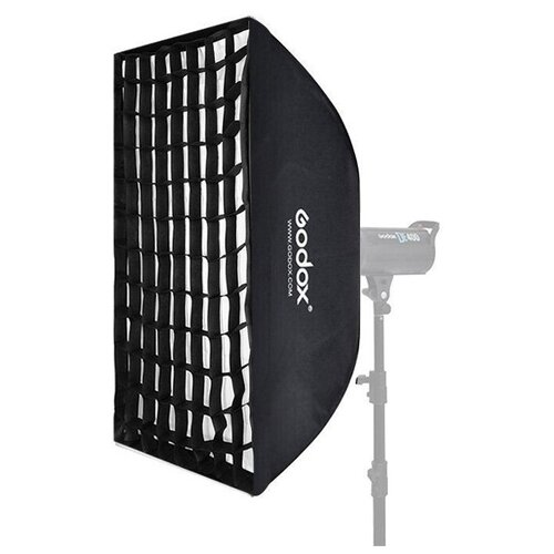 Фото - Софтбокс Godox SB-FW80120, 80 х 120 см, с сотами софтбокс godox sb ms 40x60 байонет ss