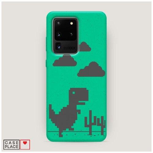 Эко-чехол Samsung Galaxy S20 Ultra Динозавр гугл