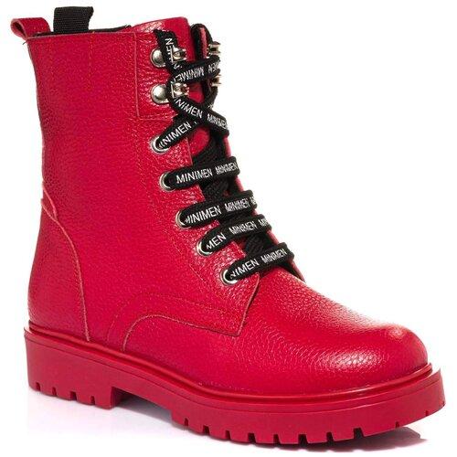 Ботинки MINIMEN размер 33, красный