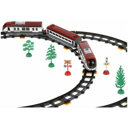 Фото - Железная дорога Играем вместе Скоростной пассажирский поезд 308 см 1512B236-R1 железные дороги играем вместе железная дорога 308 см