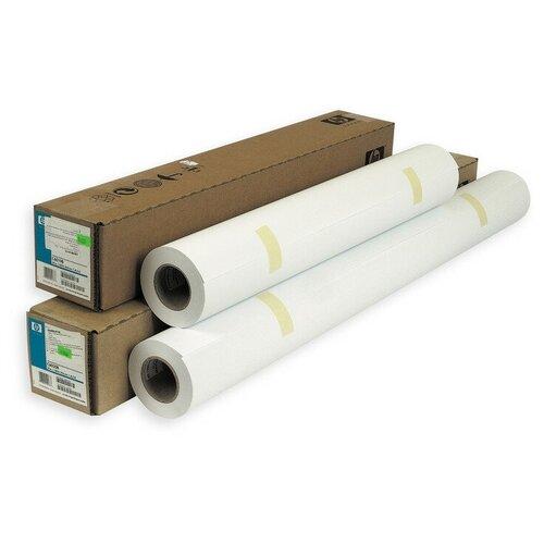 Фото - Бумага широкоформатная HP Bright White InkJet 90г 610ммх45.7м 50,8ммC6035A bright white inkjet paper q1446a