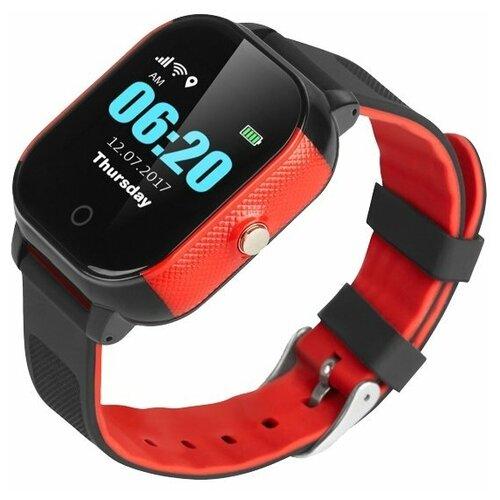 Детские умные часы Smart Baby Watch GW700S / FA23, черный/красный