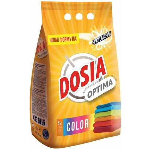 Стиральный порошок автомат 6 кг DOSIA (Дося) Optima Color, для цветного белья недорого