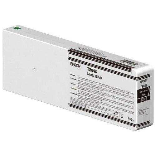 Фото - Картридж Epson C13T804800 Matte Black epson бумага epson water resistant matte canvas 44 x 12 2м c13s042016
