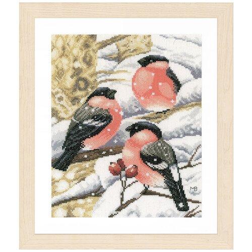 Купить Набор для вышивания LANARTE №104 PN-0169675 Снегирь 1 шт., Наборы для вышивания