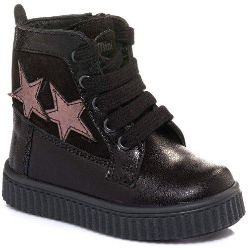 Ботинки MINIMEN размер 25, черный