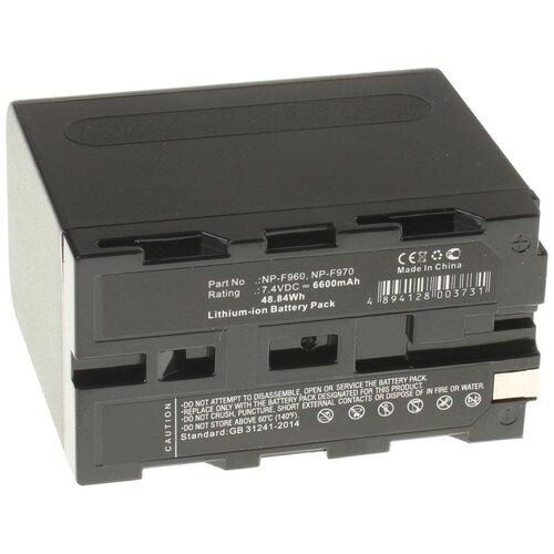 Аккумуляторная батарея iBatt 6600mAh для Sony PLM-A35 (Glasstron), Mavica MVC-FD85, CCD-TRV36E, CCD-TRV94E, DCR-TRV125E, CCD-TR3200E, DCR-TRV210E, DCR-TRV720E