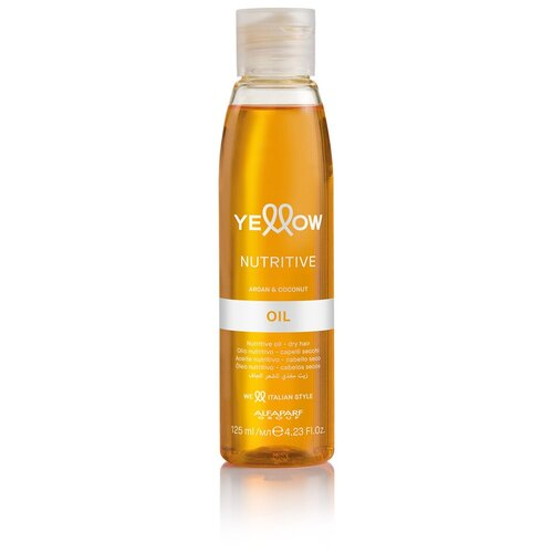 масло увлажняющее для питания сухих волос semi di lino nutritive essential oil 6 13мл Масло увлажняющее для сухих волос YE NUTRITIVE OIL, 125 мл YELLOW MR-18319