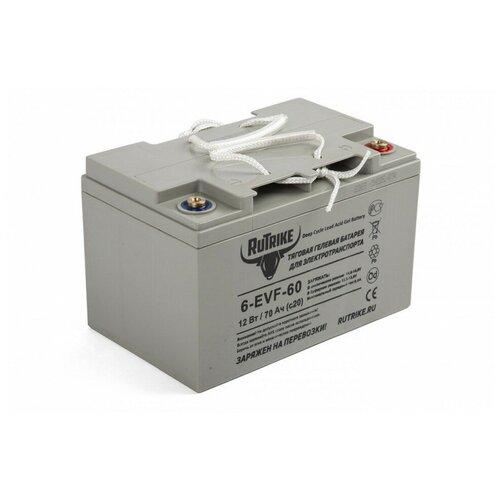 Тяговый гелевый аккумулятор RuTrike 6-EVF-60