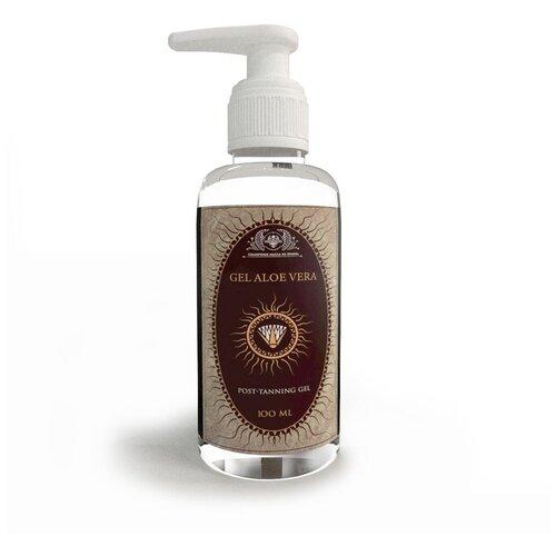 Гель алоэ вера натуральный с пантенолом для лица и тела Shams Natural Oils 100 мл.