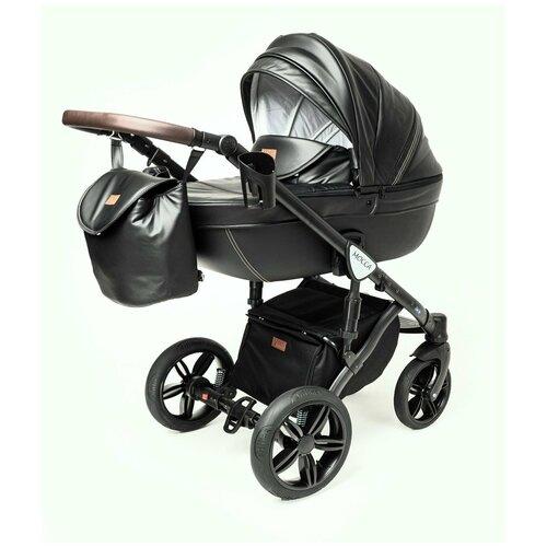Детская коляска 3 в 1 Verdi Mocca черная коляски 3 в 1 verdi laser 3 в 1