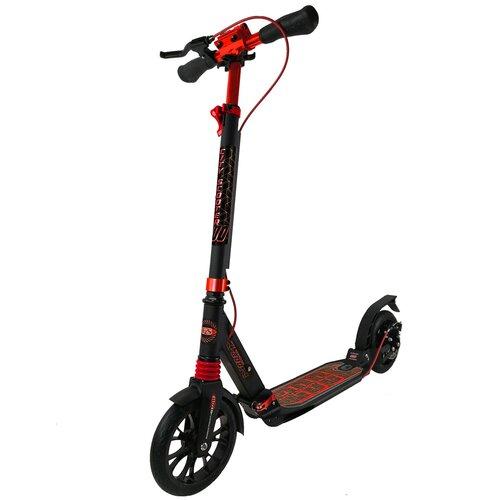 Фото - Детский городской самокат Sportsbaby City Scooter Disk MS-108, черный/красный детский городской самокат kleefer nano 145 черный красный