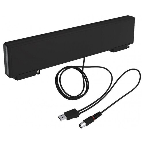 Антенна телевизионная РЭМО BAS-5310-USB HORIZON, 33 дБ, акт, комнат, настол
