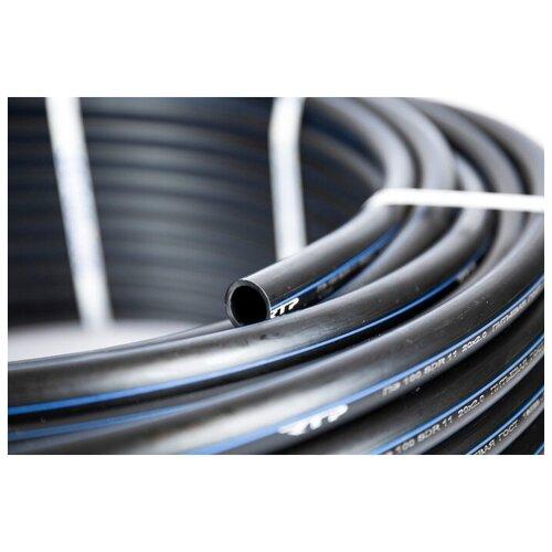Труба ПНД 25 мм x 2 мм x 25 метров водопроводная питьевая напорная ПЭ100, PN12, SDR 13.6