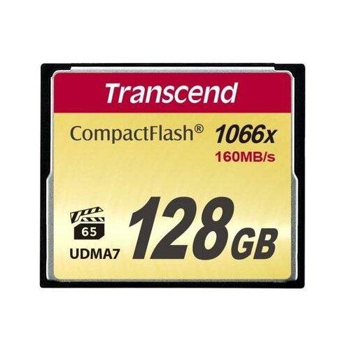 Фото - Карта памяти 128 ГБ CompactFlash (CF) Transcend CompactFlash X1000 (TS128GCF1000) карта памяти 32gb transcend cf 400x