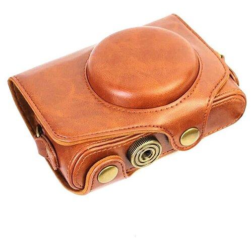 Фото - Защитный чехол-футляр MyPads TC-1736 для фотоаппарата Leica D-Lux 4 D Lux 5 D Lux 6 противоударный усиленный легкий из качественной кожи коричневый lux s120240