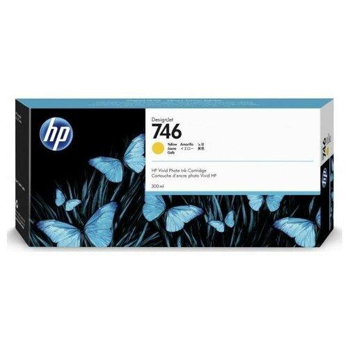 Фото - HP P2V79A Картридж оригинальный 746 желтый Yellow 300 мл для DesignJet Z6, Z6 DR VT, Z9+ Z9, Z9+ DR VT принтер hp designjet z6 44 in