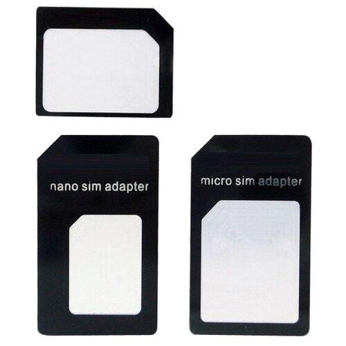 Набор переходников Red Line Nano Sim / Micro Sim / Sim УТ000002854