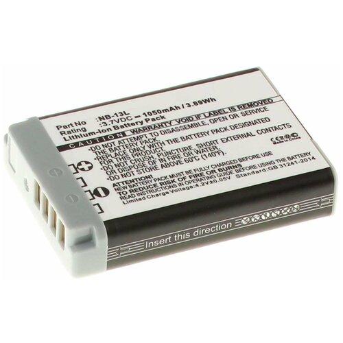 Фото - Аккумулятор iBatt iB-U1-F447 1250mAh для Canon PowerShot G7 X, аккумулятор ibatt ib u1 f428 1180mah для gopro hd hero3 hd hero3