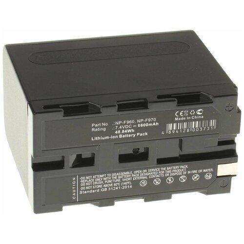 Аккумулятор iBatt iB-U1-F277 6600mAh для Sony HDR-AX2000E, DCR-VX2100E, HVR-HD1000E, NEX-FS100, HDR-FX1E, HDR-FX1000E, HDR-FX7E, VX1000, HDR-FX1, DSR-PD170P, CCD-TRV48E, DSR-PD150P, CCD-TRV98E, CCD-TR718E,