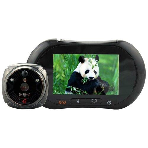 Дверной GSM видеоглазок - iHome-2 (с датчиком движения, встроенным GSM модулем, отправкой фото на телефон) в подарочной упаковке