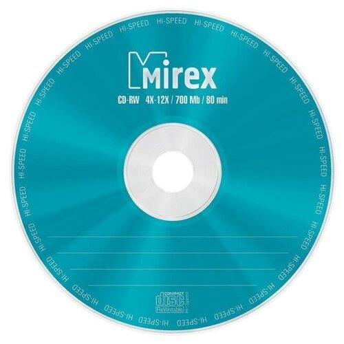Фото - Оптический диск CD-RW Mirex 700Mb, 4-12x, cake box, 10шт. (UL121002A8L) оптический диск cd rw mirex 700mb 4 12x cake box 10шт ul121002a8l