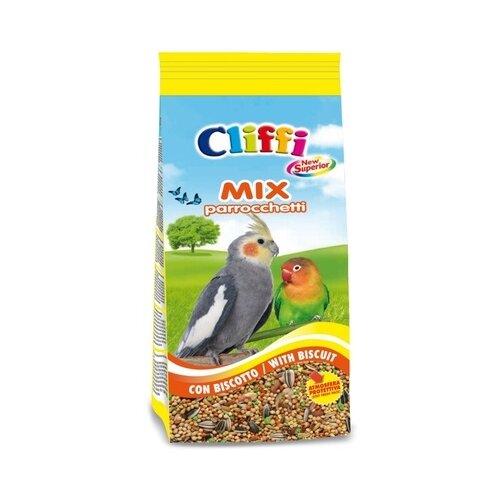 Cliffi (италия) смесь отборных семян для длиннохвостых попугаев с печеньем (superior mix parakeets with biscuit) acoa124, 5,000 кг