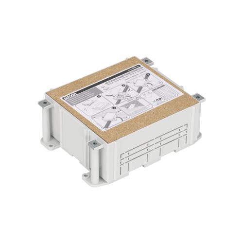 Коробка для монтажа в бетон люков SF310-.. SF370-.. высота 80-110мм 220х227мм пластик Simon Connect