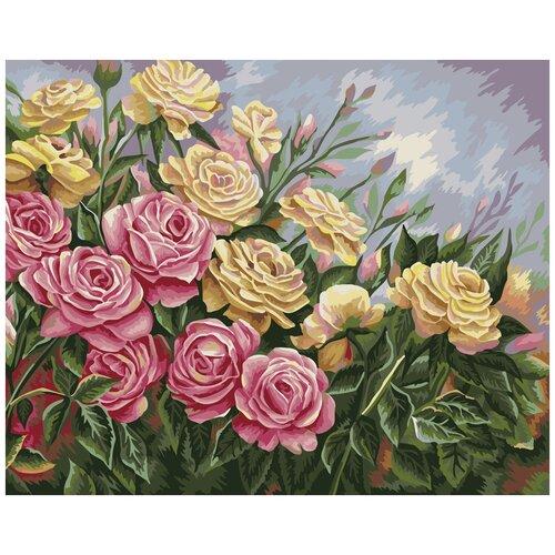 Купить Картина по номерам ФРЕЯ Розы. Жанна Когай 40х50 см, Картины по номерам и контурам