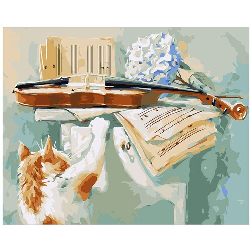 Фото - Картина по номерам ФРЕЯ Любопытство 40х50 см картина по номерам фрея нотр дам огненный закат 40х50 см