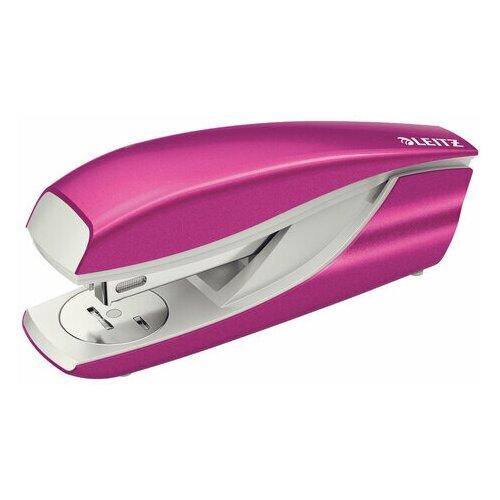 Купить Степлер №24/6, 26/6 металлический LEITZ New NeXXt WOW , до 30 л., розовый металлик, 55022023, 1 шт., Степлеры, скобы, антистеплеры