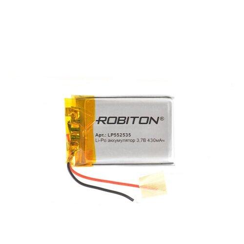 Фото - Аккумулятор ROBITON LP552535 3.7В 430mAh аккумулятор robiton lp501335