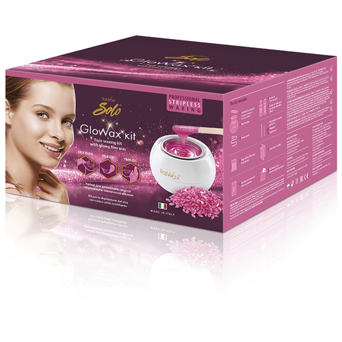 ITALWAX Glo wax kit, депиляция для лица