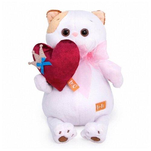 Купить Мягкая игрушка Ли-Ли с сердцем. BUDIBASA. 24 см. LK24-074, BUDI BASA collection, Мягкие игрушки