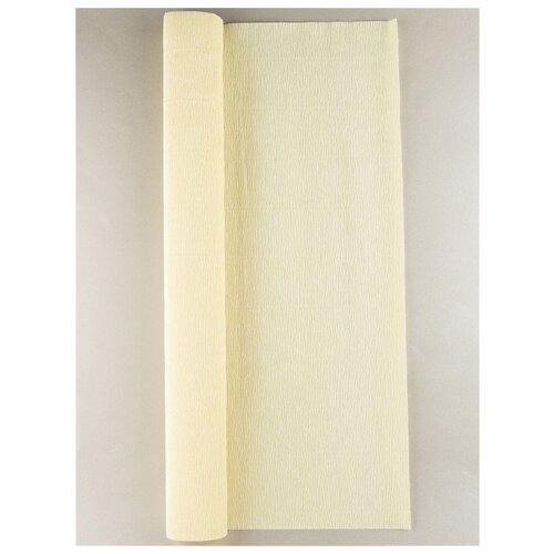 Купить Бумага гофрированная 50см х 2, 5м., 180г/м., Cartotecnica Rossi, 017/А1 кремовый, Цветная бумага и картон