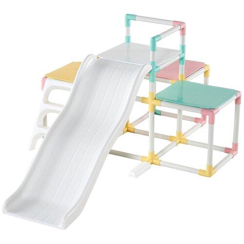 Купить Детский игровой комплекс Haenim Toy HN-771 для дома и улицы: детская горка с лазом (производитель Южная Корея), Игровые и спортивные комплексы и горки