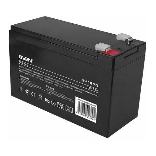 Аккумуляторная батарея для ИБП любых торговых марок 12 В 7 Ач 151х65х100 мм SVEN SV-0222007 1 шт.