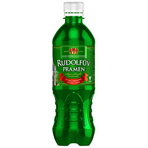 Фото - Вода лечебно-столовая Rudolfuv Pramen (Рудольфов Прамен) 12 шт по 0,5 л пэт вода минеральная rudolfuv pramen природная лечебно столовая газированная пэт 12 шт по 0 5 л