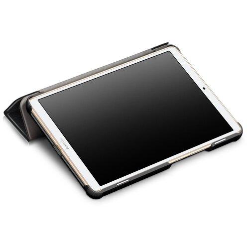 """Чехол-обложка MyPads для Samsung Galaxy Tab A 2016 7.0 SM-T285/ T280 / T280N / T288 / T285C"""" тонкий умный кожаный на пластиковой основе с трансформацией в подставку розовый"""