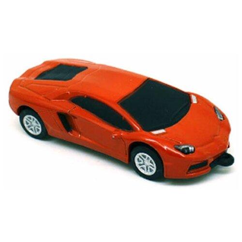 Фото - Флешка Memoryking машинка Lamborghini 128гб машины дикие скричеры машинка трансформер спаркбаг л1