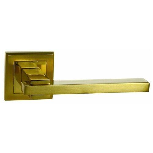 Ручка дверная Оберег Z6078 SG/GP Матовое золото/золото