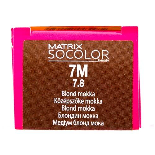 Купить Matrix Socolor Beauty стойкая крем-краска для волос, 7M блондин мокка, 90 мл