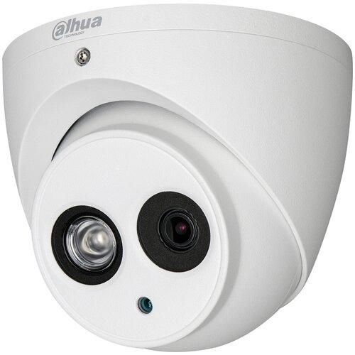 Камера видеонаблюдения Dahua DH-HAC-HDW2401EMP-0360B белый камера видеонаблюдения dahua dh hac hfw1409tp a led 0360b 1440p 3 6 мм белый