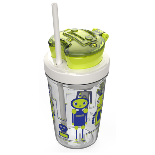 Детский стакан Сontigo Snack Tumbler contigo0628 зеленый