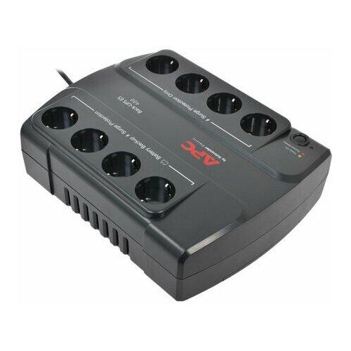 Источник бесперебойного питания APC Back-UPS BE400-RS 400 VA (240 W) 8 розеток CEE 7 черный 1 шт.