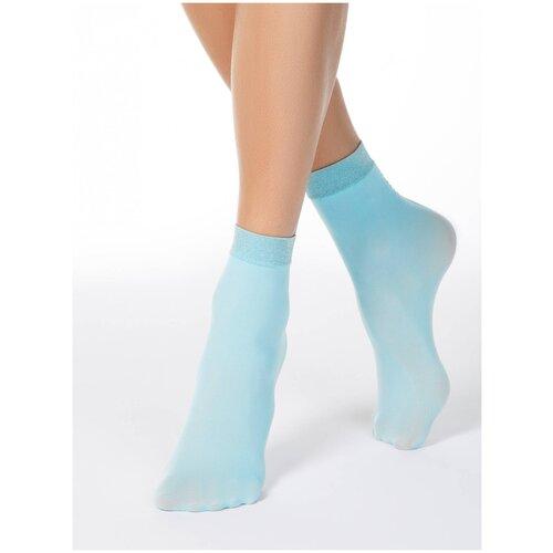 Капроновые носки Conte Elegant 16С-125СП, размер 23-25, light blue