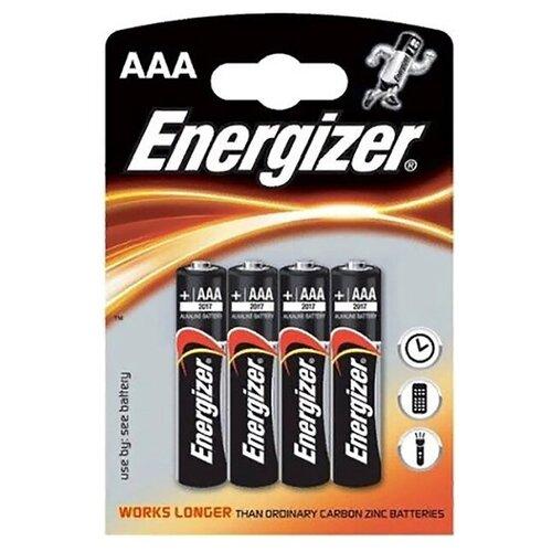 Фото - Батарейка AAA литиевая Energizer LR03-4BL MAX в блистере 4шт. батарейка energizer max aaa lr03 алкалиновая 4bl