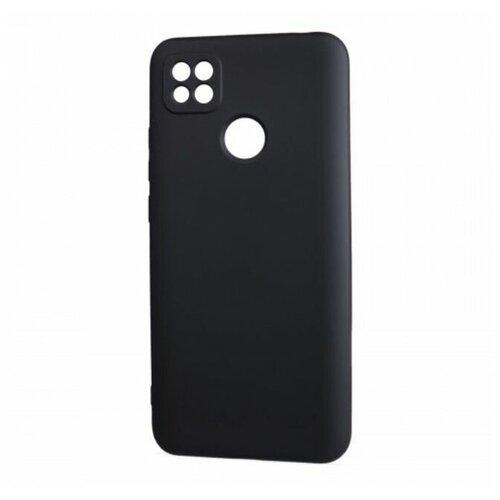 Чехол силиконовый Xiaomi Redmi 9C (черный)