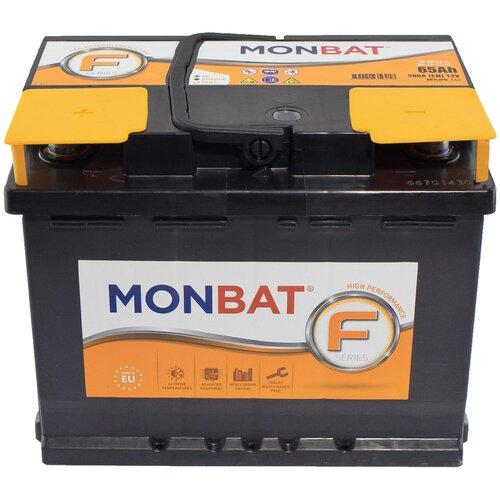 Автомобильный аккумулятор MONBAT FORMULA 65 Ач 580 А (прямая полярность)