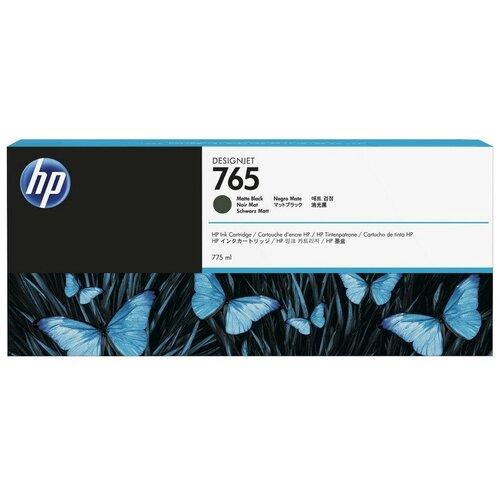 Фото - Картридж струйный HP 765 F9J55A чер. для DJ T7200 картридж струйный hp 765 f9j50a желтый 400мл для hp dj t7200